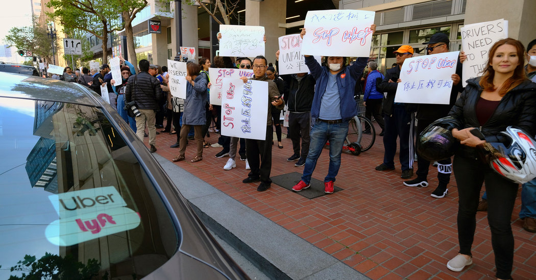 Debate Over Uber and Lyft Drivers' Rights in California Has Split Labor