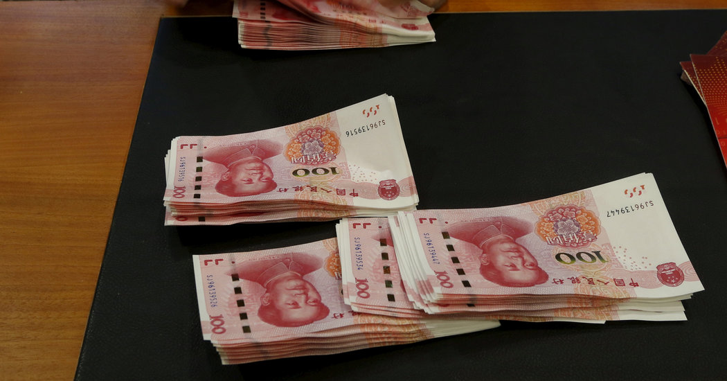China Hints at Weaponizing Its Currency, Rattling Markets