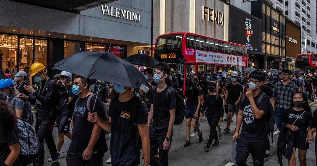 China Pressures Business Over Hong Kong. Workers Get Caught in the Middle.