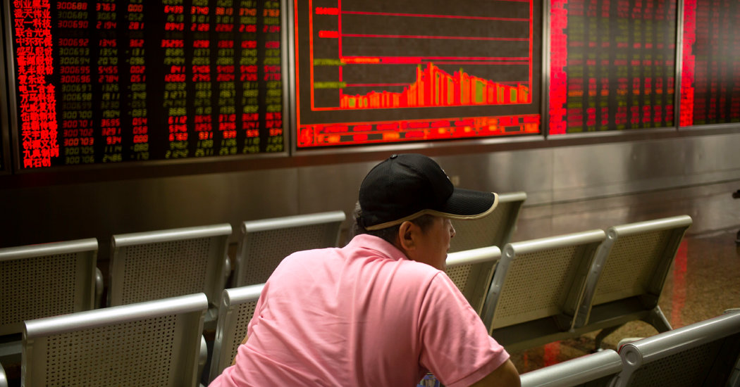 Chinese Currency's Drop Isn't Entirely in Beijing's Control