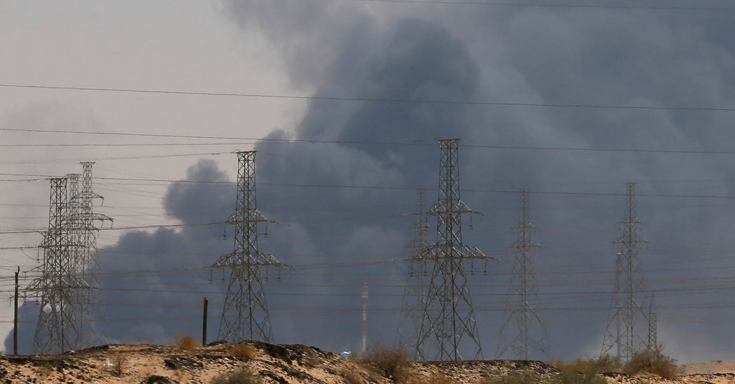 Attack on Saudi Oil Facility Is Seen as Short-Term Disruption