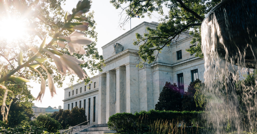 Fed Jumps Into Market to Push Down Rates, a First Since the Financial Crisis