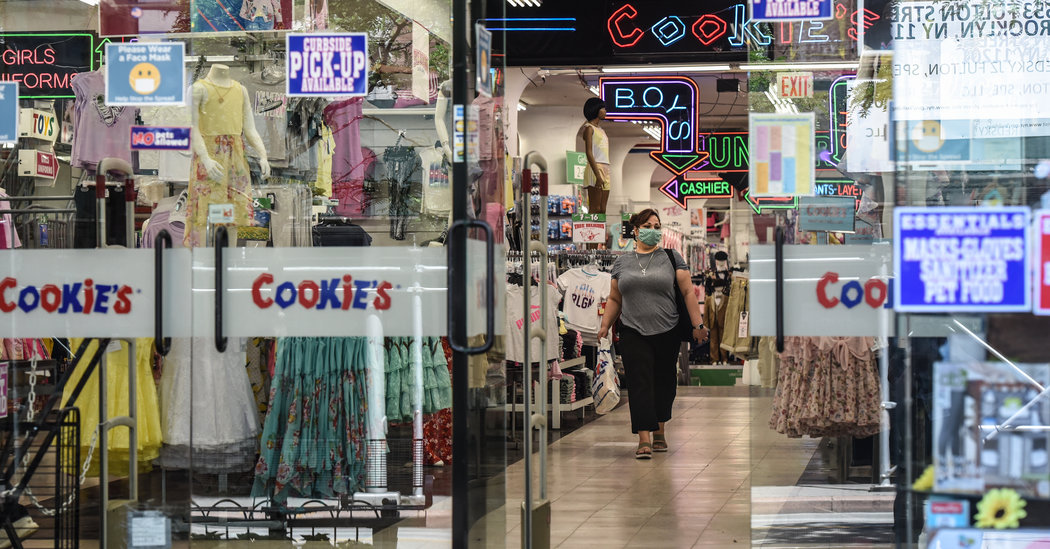 Retail Sales Rebounded in May, but the Road Back Is Long