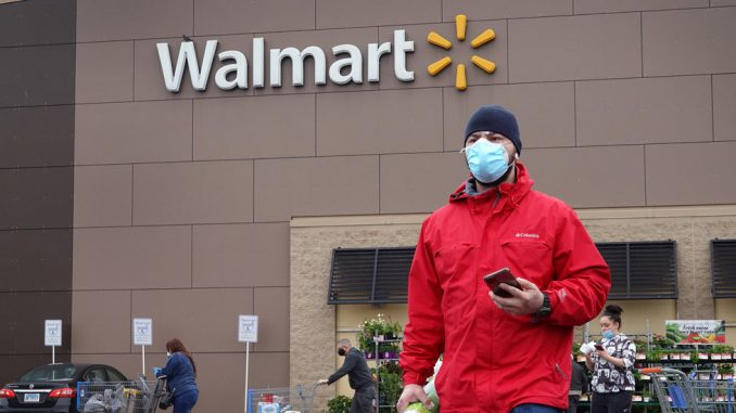 Walmart, Nation's Largest Retailer, to Require Customers Wear Masks