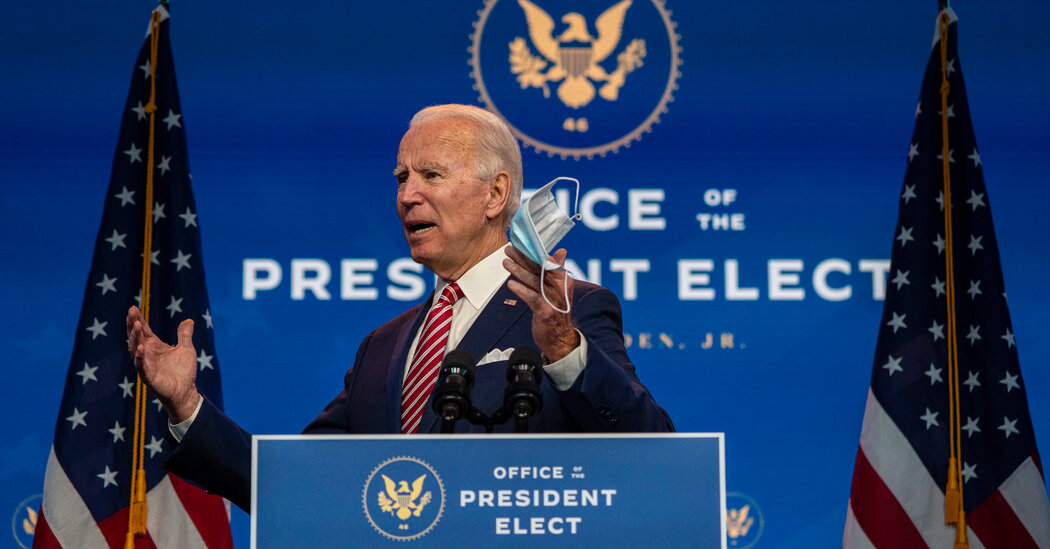 Biden Calls for Stimulus Ahead of a 'Dark Winter' for the Country