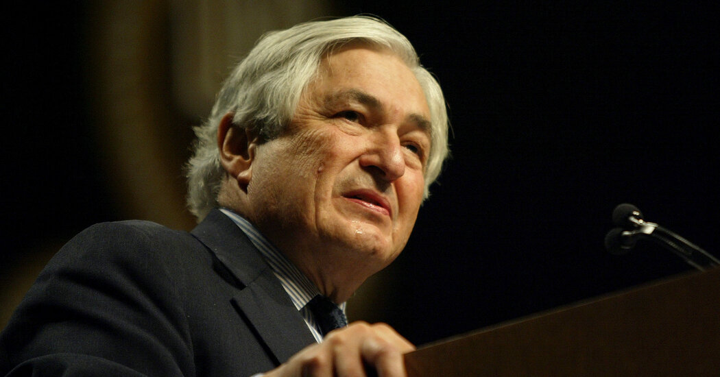 James D. Wolfensohn, Who Led the World Bank for 10 Years, Dies at 86