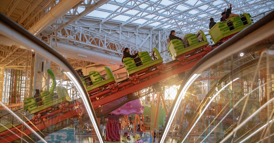 New Jersey's American Dream Mall Is Still Waiting to Fully Open