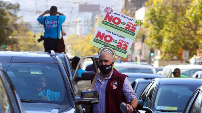 Uber and Lyft Drivers in California Will Remain Independent