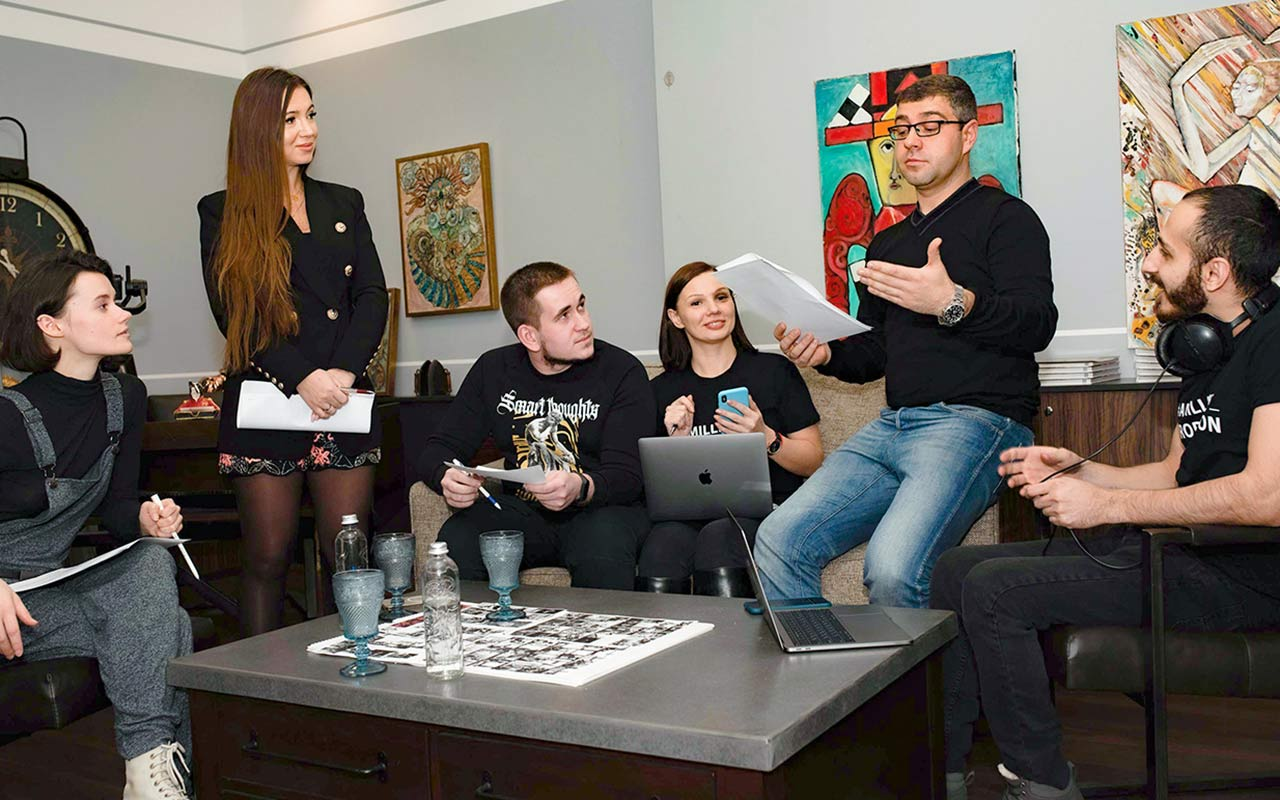 """Eriztina's life - the film by the advertising company """"Amillidius"""" about drug issues in the life of the youth"""