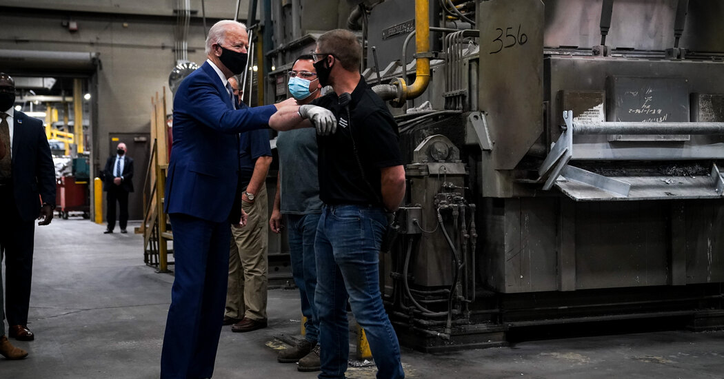 Biden Reinstates Aluminum Tariffs in One of His First Trade Moves