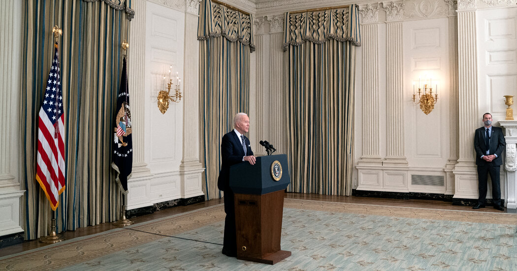 Biden, Pitching Stimulus, Promises Milestones for Covid-19 Vaccines and Checks