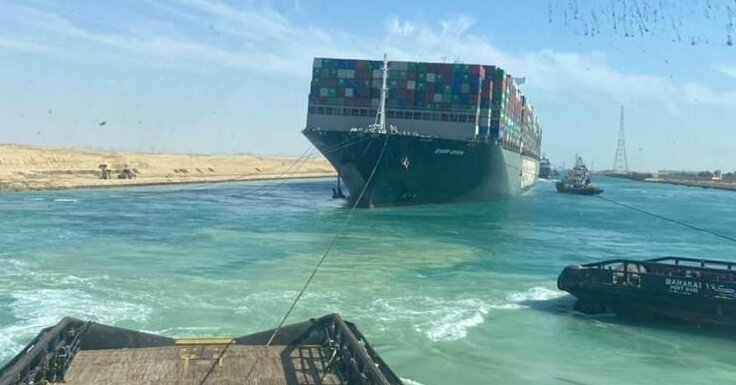 Suez Canal Is Open, but the World is Still Full of Giant Container Ships