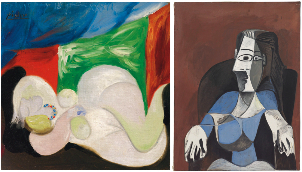 Two Picassos Expected to Achieve $20 M. to Sell at Christie's – ARTnews.com