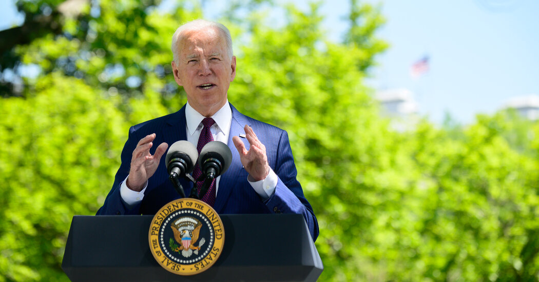Biden Details $1.8 Trillion Plan for Workers, Students and Families