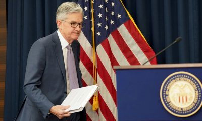 Fed Chief Says U.S. Economy Is at an 'Inflection Point' as Risks Remain