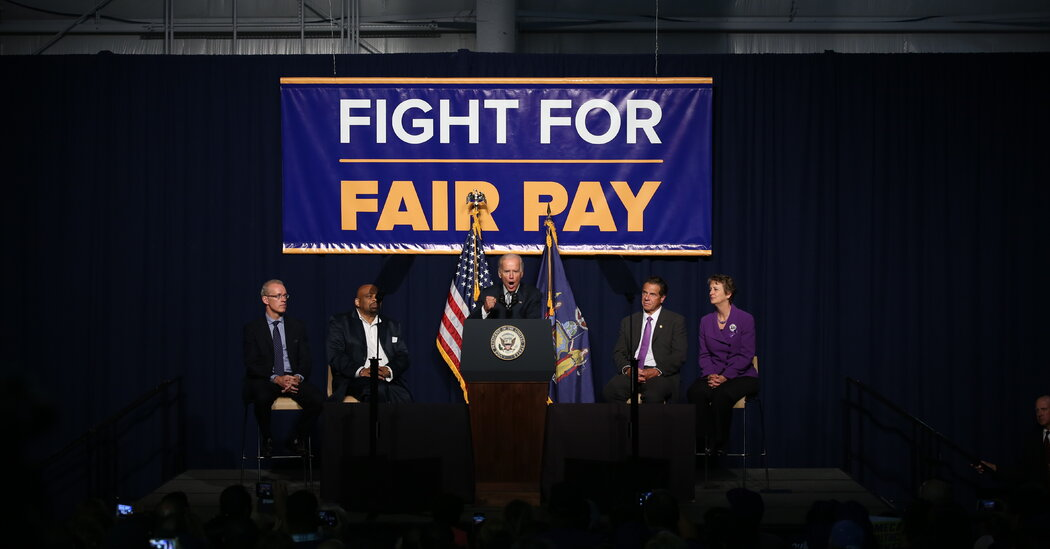 President Biden plans to order a $15 minimum wage for federal contractors.