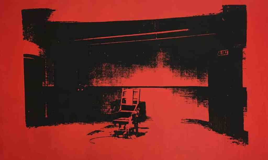 Alice Cooper to Auction Unsigned Warhol Electric Chair Painting – ARTnews.com