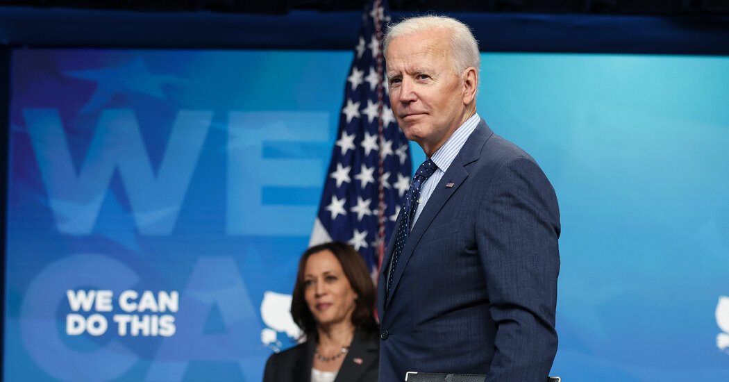 Biden Narrows Infrastructure Proposal to Win Republican Support
