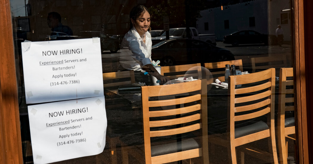 Where Jobless Benefits Were Cut, Jobs Are Still Hard to Fill