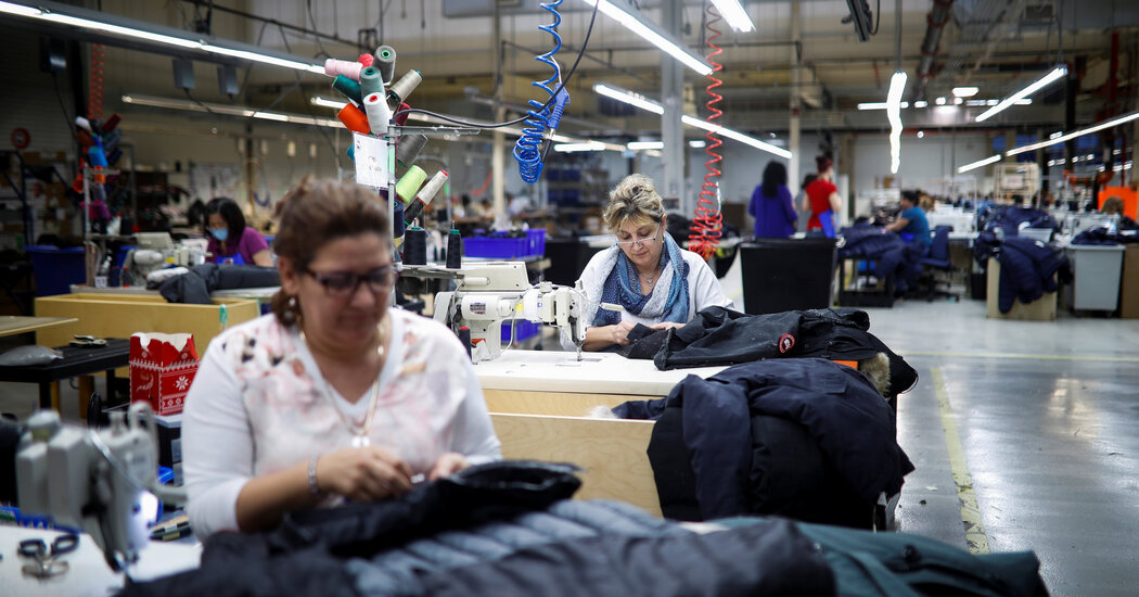 Canada Goose's Image Is Challenged by Union Effort