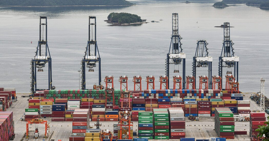 China reports strong export numbers despite shipping delays.