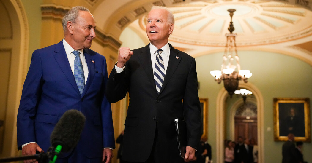 Democrats Roll Out $3.5 Trillion Budget to Fulfill Biden's Broad Agenda