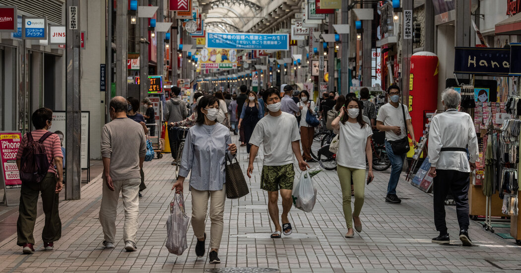 Inflation? Not in Japan. And That Could Hold a Warning for the U.S.