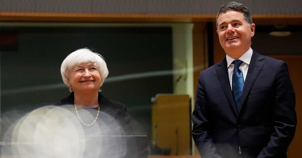 Yellen Makes Case for Ireland to Join Global Tax Deal
